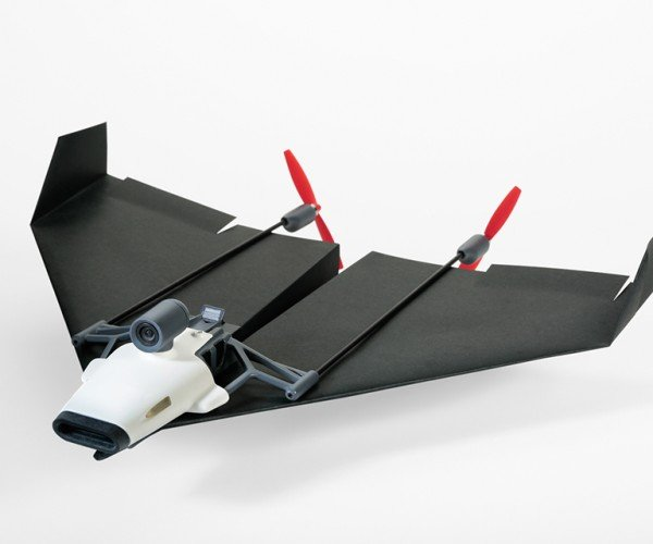 PowerUp FPV Equips Paper Planes with a Live Streaming Camera: Fold's Eye View