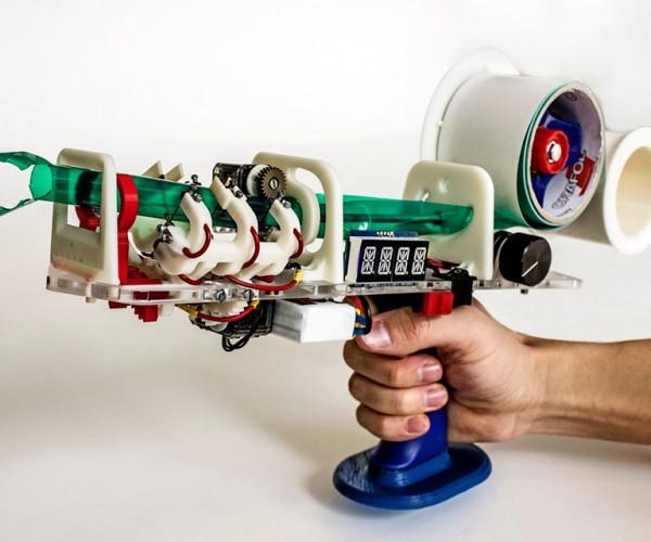 Protopiper Prints Tape Tubes for 3D Sketches: Tubeframe