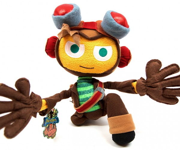 Psychonauts Raz Plush Doesn't Come with the World's Smallest Pony Plush