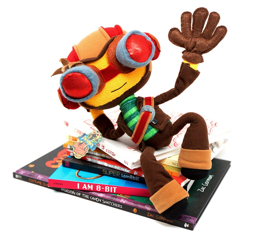 Psychonauts Raz Plush Doesn T Come With The World S