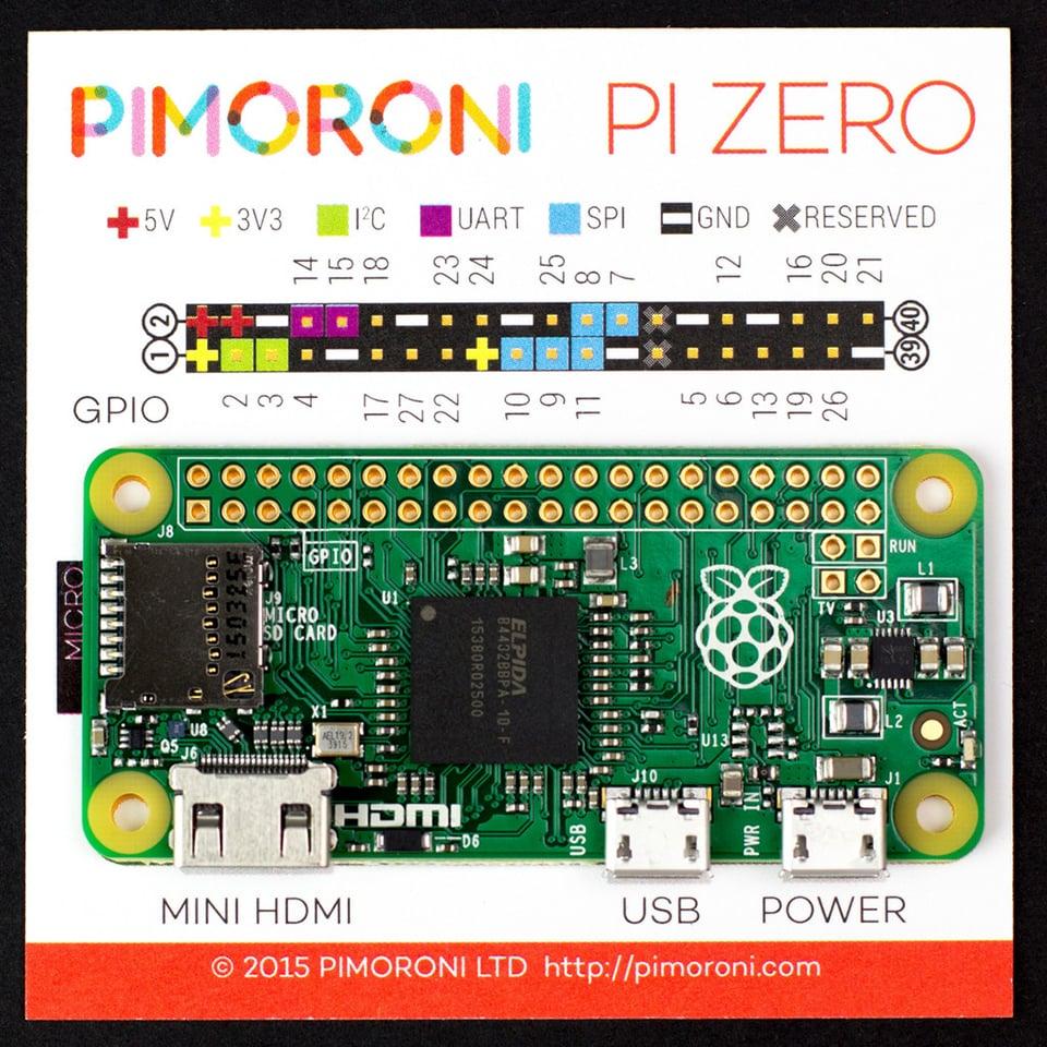 Raspberry Pi Zero Costs Just $5: Maker's Spark - Technabob