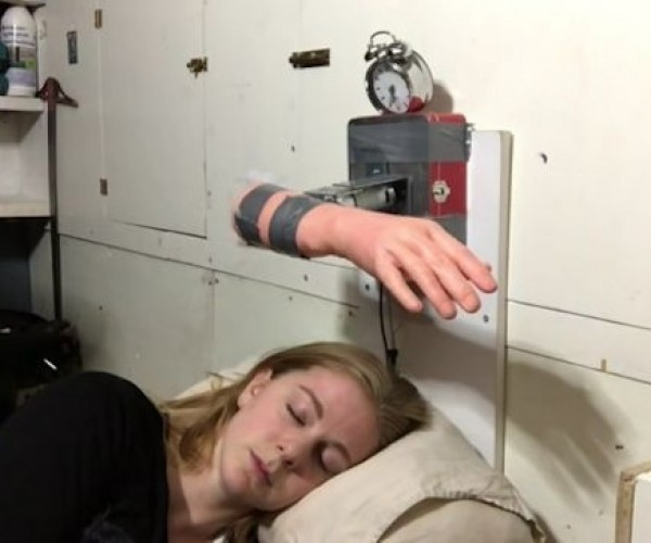 The Wakeup Machine Wakes You with a Slap