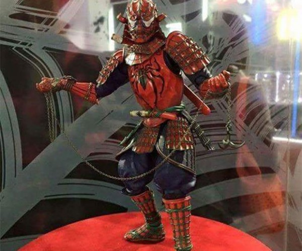 Look out! Here Comes the Samurai Spider-Man!