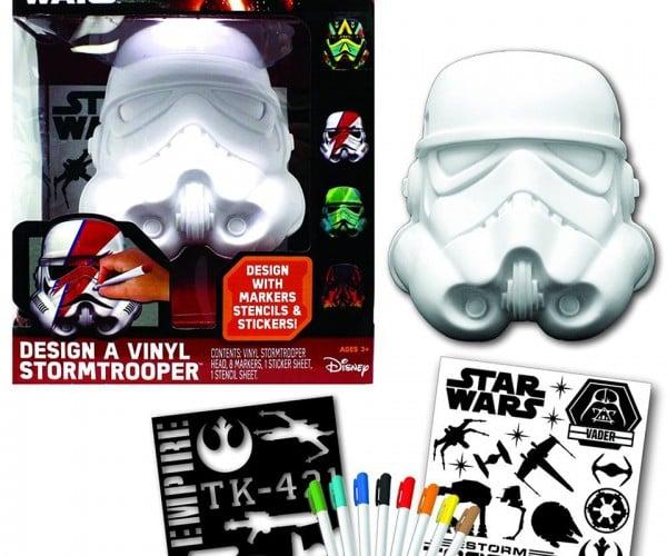 Star Wars Design a Vinyl Stormtrooper Helmet: Rainbow Fett