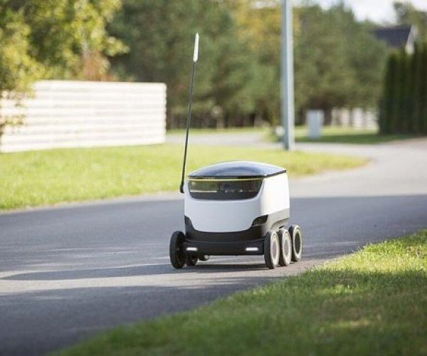 Starship Robot Wants to Deliver Groceries to Your Door