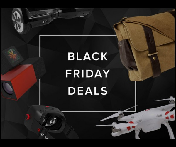 "Black Friday Deal: Save 15% off in The Technabob Shop with Code ""BLACKFRIDAY"""
