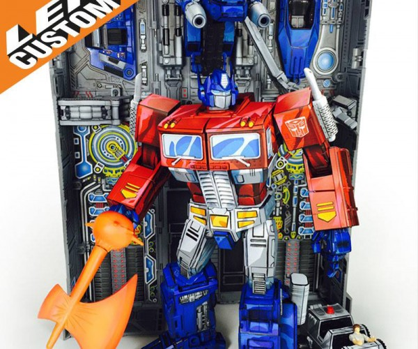 Transformers Masterpiece Custom Cartoon Paint Job: Figures in Disguise