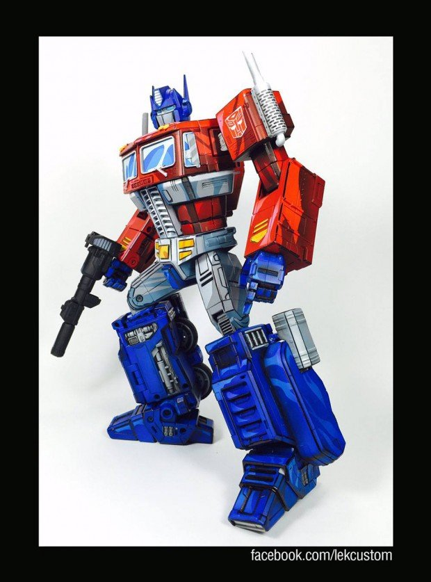 Transformers Masterpiece Custom Cartoon Paint Job Figures