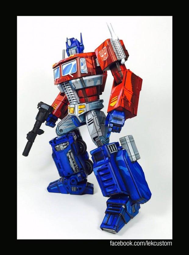 transformers_optimus_prime_cartoon_paint_by_lek_custom_toys_3
