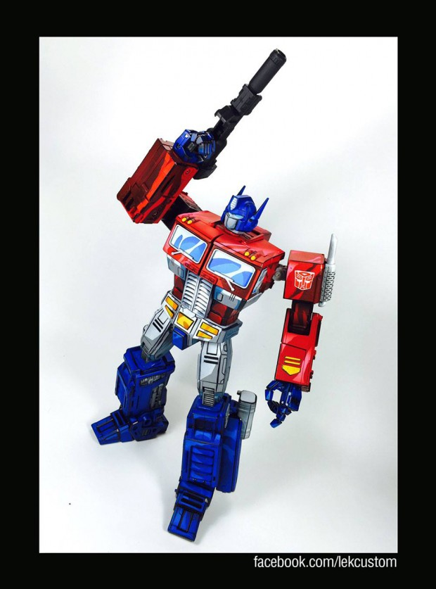transformers_optimus_prime_cartoon_paint_by_lek_custom_toys_4