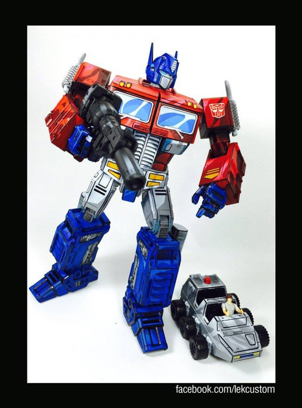 transformers_optimus_prime_cartoon_paint_by_lek_custom_toys_5