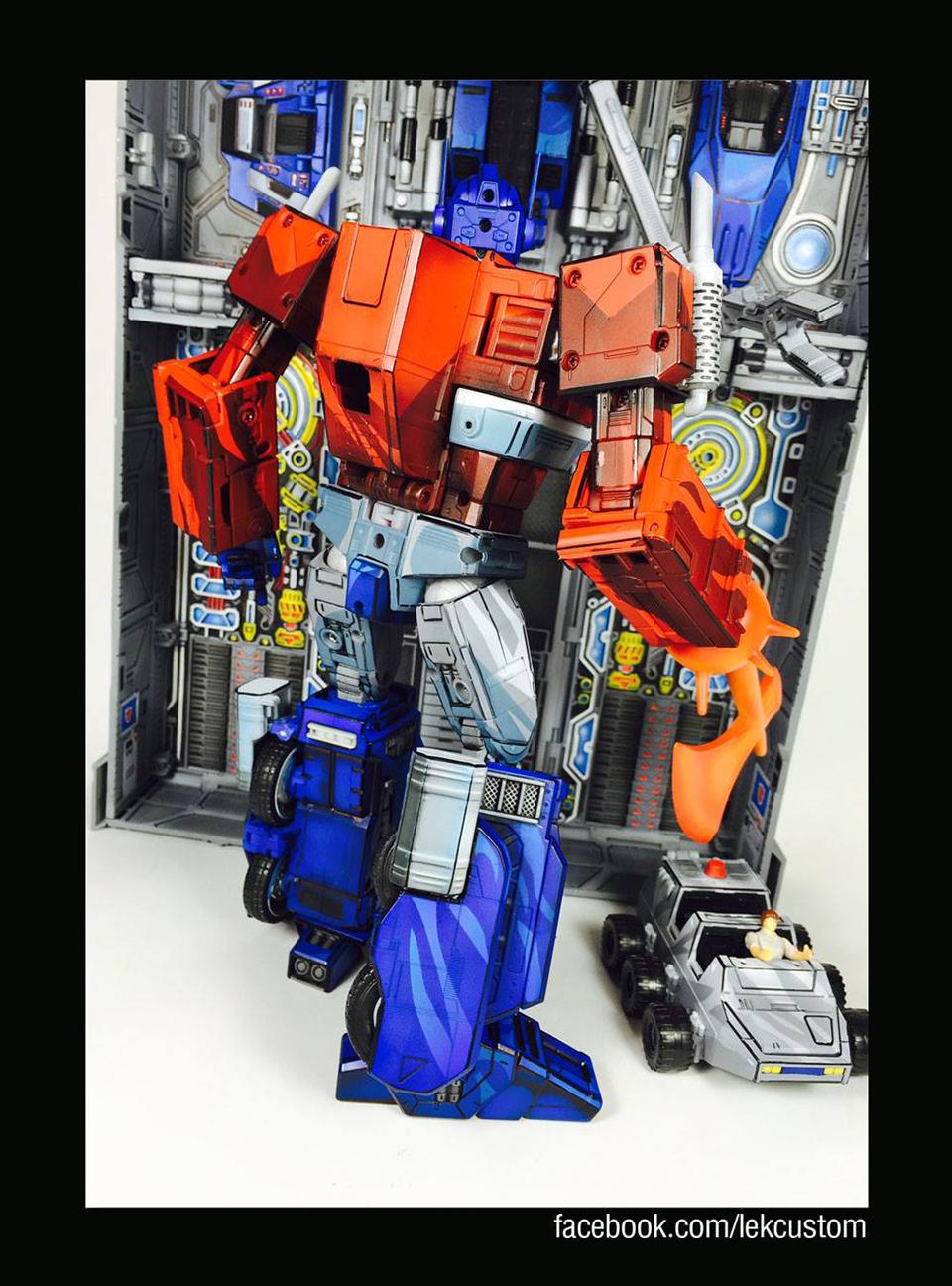 Optimus Prime Paint Job