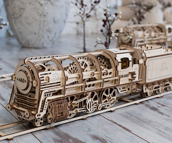 UGears Wooden Mechanical Models: Rubberpunk