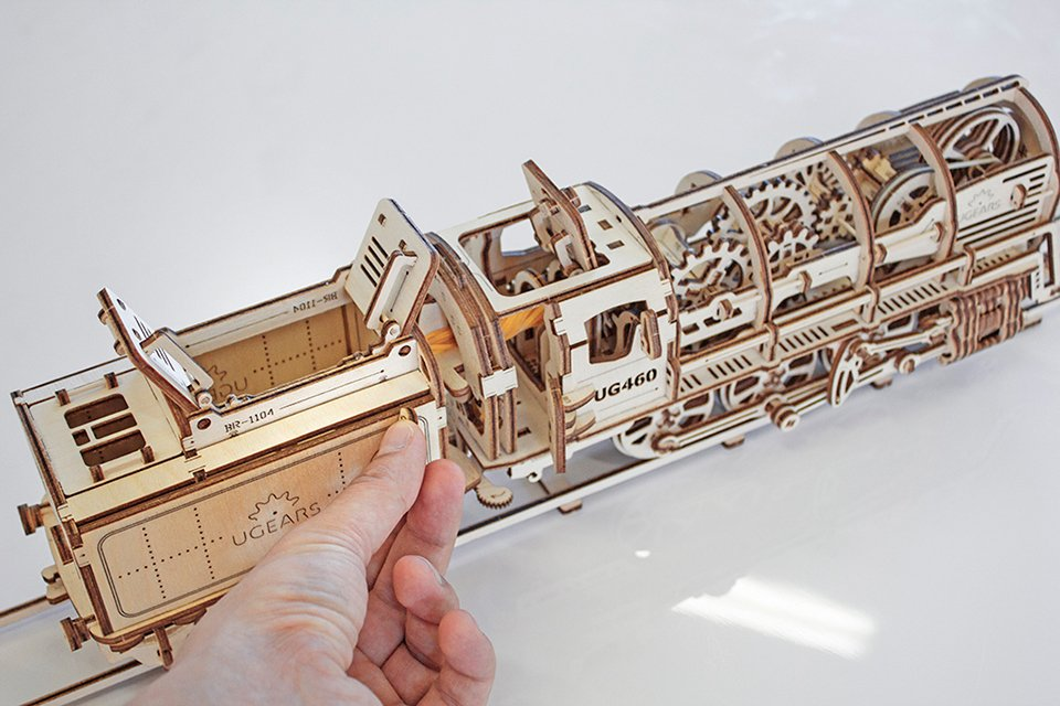 UGears Wooden Mechanical Models: Rubberpunk - Technabob