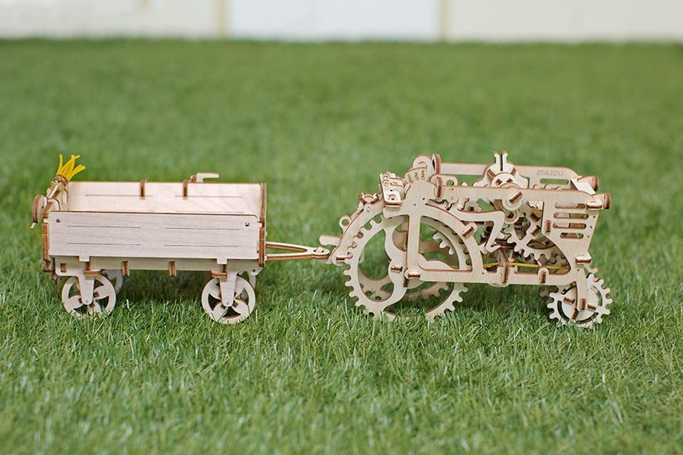 UGears Wooden Mechanical Models: Rubberpunk