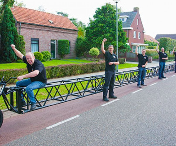 The Longest Bicycle in the World