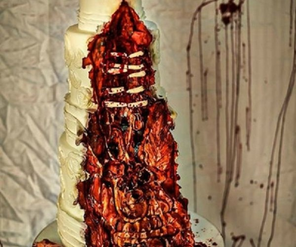 Disgusting Zombie Cake: The Wedding Dead