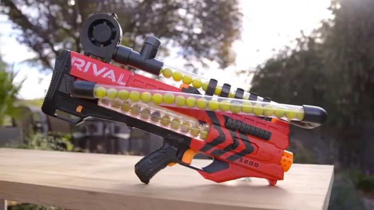 DIY NERF Rival Zeus Rifle108-Ball Magazine: Good Luck Picking Those Up -  Technabob