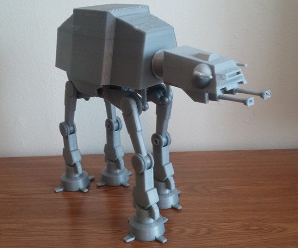 DIY 3D Printed Motorized AT-AT: Infinite Orders