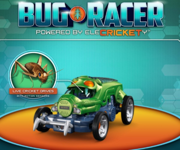 Mattel's Bug Racers Are Steered by Live Insects
