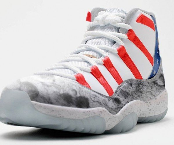 The Moon Landing Was Not a Hoax, but These Air Jordans Are