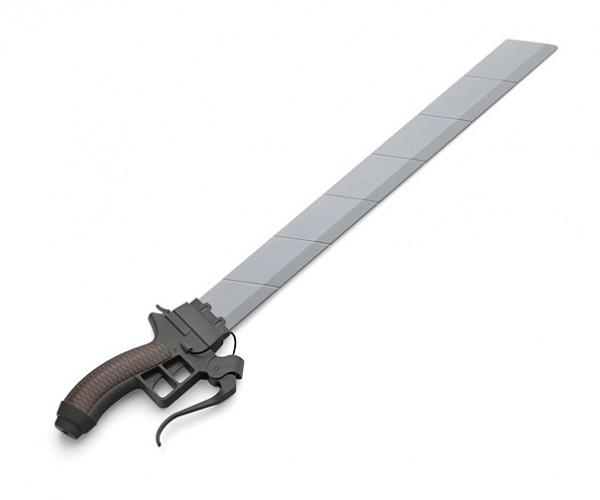 Life-size Attack on Titan Sword Replica: Neck Scratcher