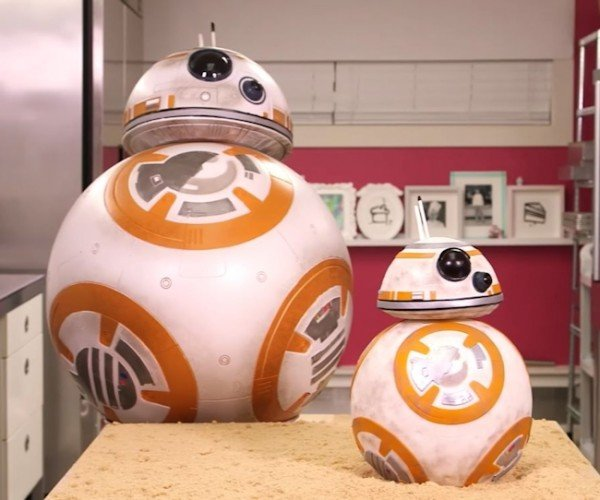 The Force Awakens BB-8 Cake (BB-Ate)
