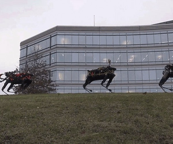 Boston Dynamics Wishes Us a Terrifying, Robot-filled Christmas