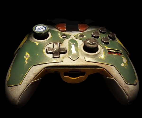 Boba Fett Xbox One Controller is Bountyful