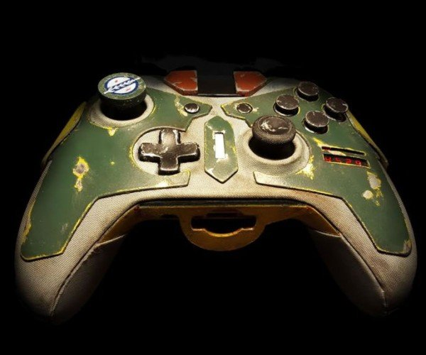 Boba Fett Xbox One Controller is Bountyful
