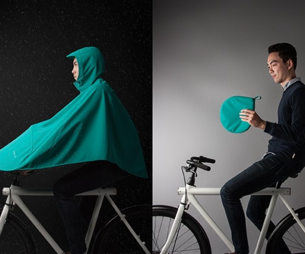 The Boncho Is a Poncho for Bike Riders
