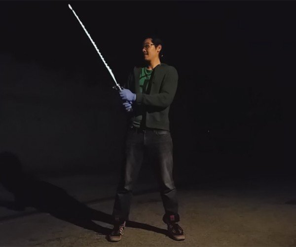 DIY Burning Lightsaber: Luke Blademaster