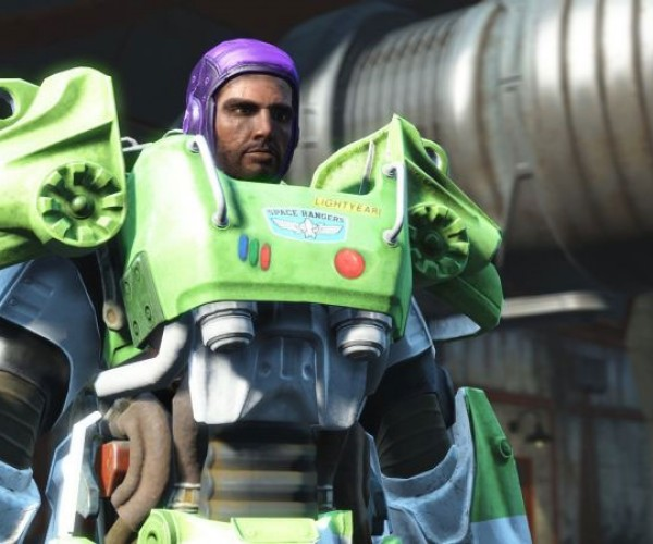 Paladin Danse Makes an Excellent Buzz Lightyear