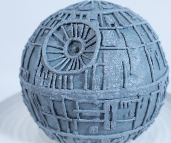 Make a Death Star Cake