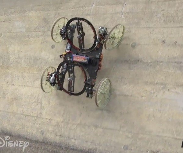 Disney's VertiGo Robot Can Climb Walls