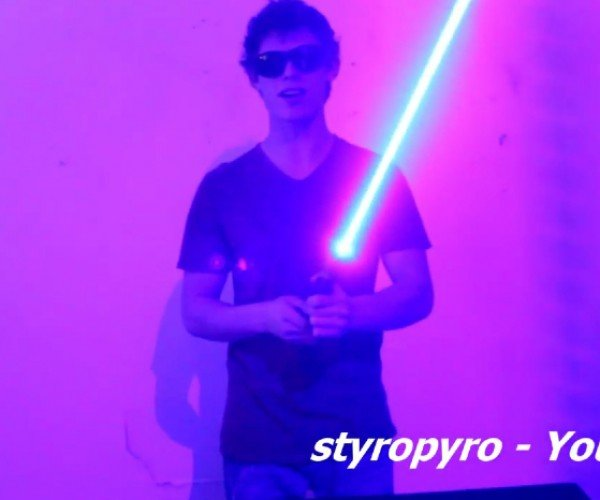 DIY 7W Laser Lightsaber: The Force Ablindens