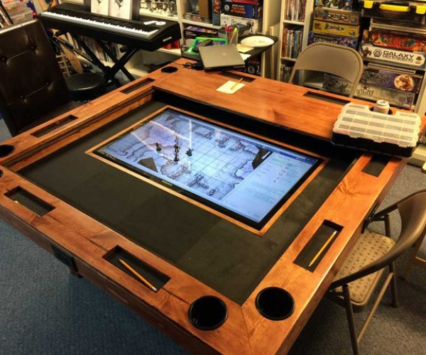 DIY Tabletop Gaming Table: World Building