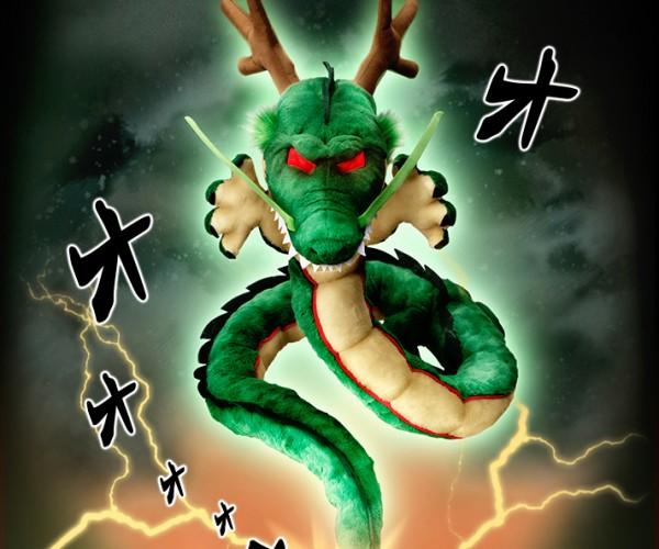 Dragon Ball Shenron Body Pillow: Kamehamehug