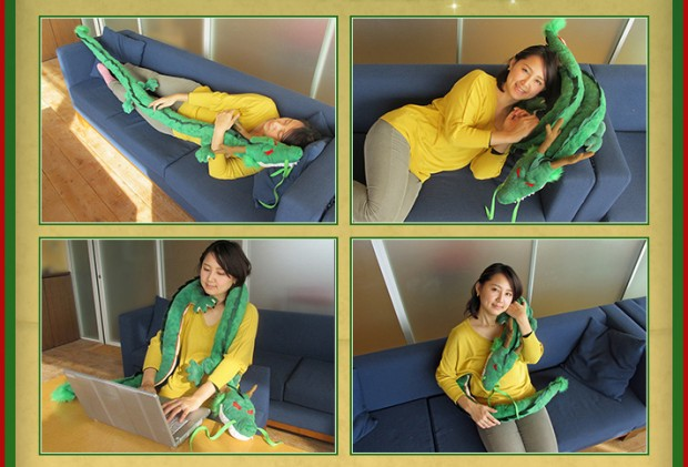 Dragon Ball Shenron Body Pillow  Kamehamehug