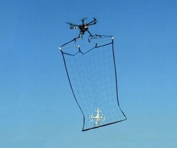 Tokyo Police Use a Drone to Catch a Drone