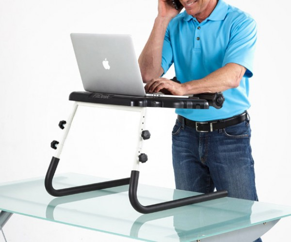 Deal: FitDesk Tabletop Standing Desk
