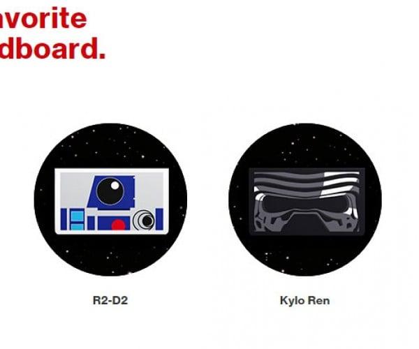 Verizon Offers Free Star Wars Themed Google Cardboard Viewers