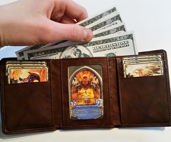 DIY Hearthstone Warrior Wallet: My Thanks