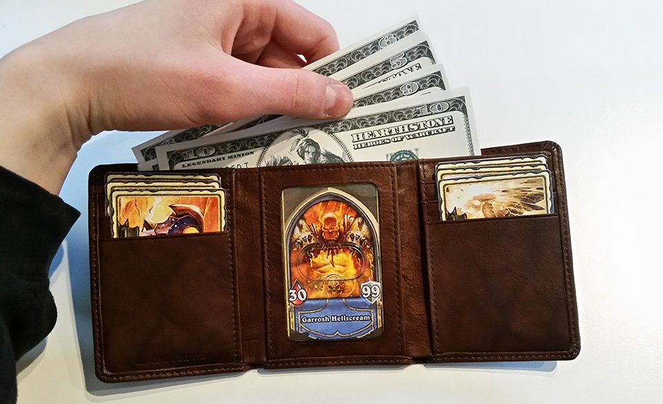 DIY Hearthstone Warrior Wallet: My Thanks - Technabob