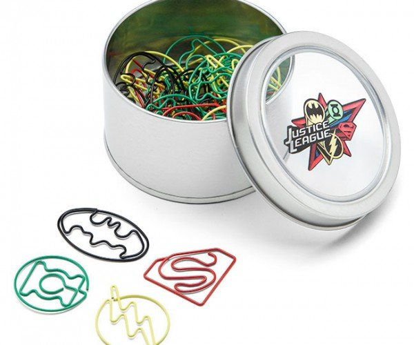 Justice League Paper Clips: Clips of Justice