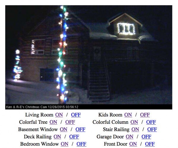 You Can Control This Family's Christmas Lights: Twitch Plays Light Op