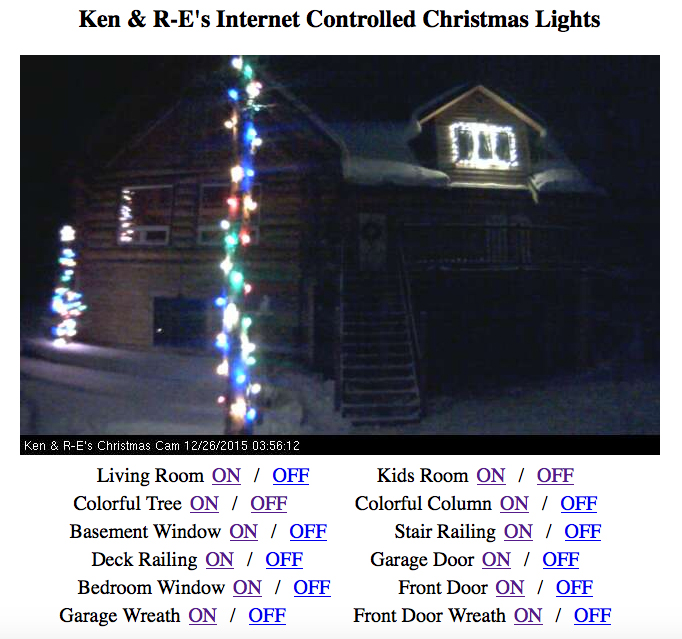 You Can Control This Family's Christmas Lights: Twitch Plays Light Op - Technabob
