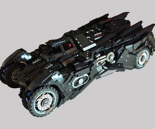 LEGO Batman: Arkham Knight Batmobile Concept: Play Mode