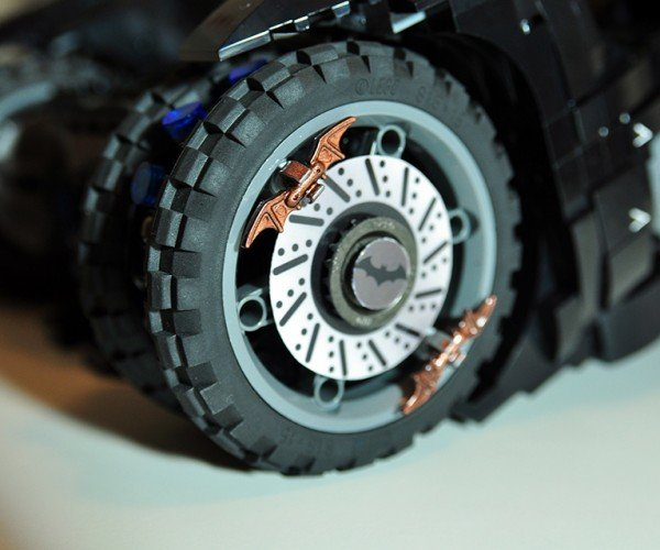 Lego Batman Arkham Knight: LEGO Batman: Arkham Knight Batmobile Concept: Play Mode