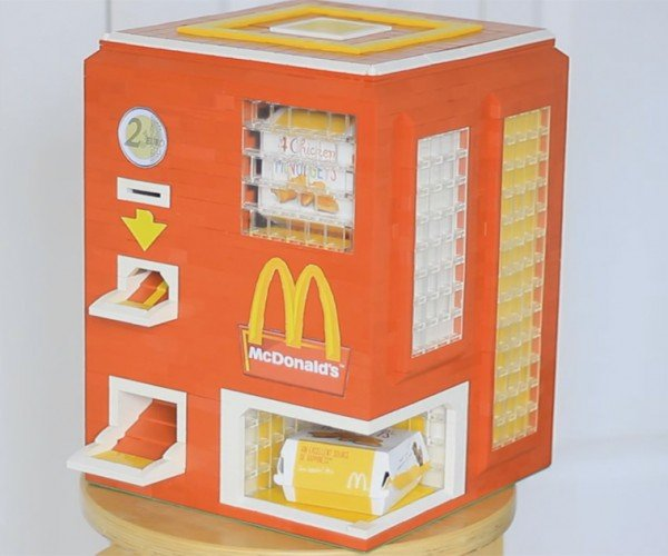 DIY LEGO McDonald's Chicken McNuggets Vending Machine: Off the Chain